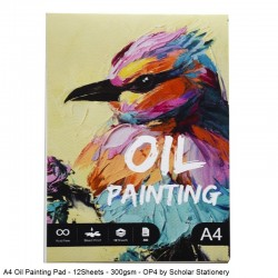 A4 Oil Painting Pad -...