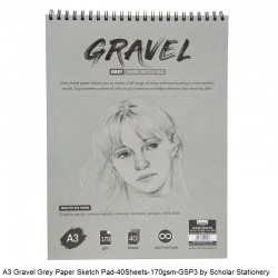 A3 Gravel Grey Paper Sketch...