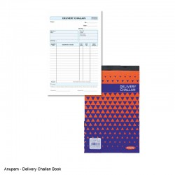 Anupam Delivery Challan Book