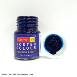 351 Poster Prussian Blue...