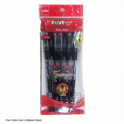 Cello Fast-O Ball Pen Black
