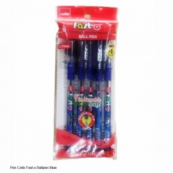 Cello Fast-O Ball Pen Blue