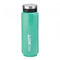 PB 500-41 Probott Stainless steel double wall vacuum flask SLICED  -Green