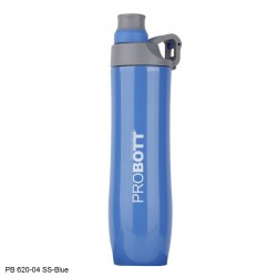 PB 620-04 Probott Stainless steel double wall vacuum flask Gamma  -Blue