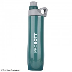 PB 620-04 Probott Stainless steel double wall vacuum flask Gamma  -Green