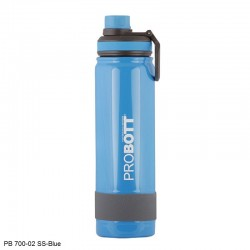 PB 700-02 Probott Stainless steel double wall vacuum flask RAINBOW 700ml -Blue