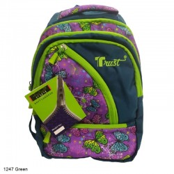 Trust 1247 Green Backpack Bag
