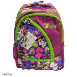Trust 1247 Purple Backpack Bag