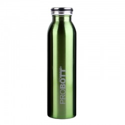 PB 750-16 Probott Stainless steel double wall vacuum flask MILKY  -Green