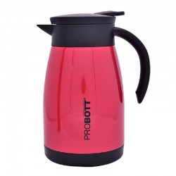 PB 750-99 Probott Stainless Steel Coffee Pot-Red