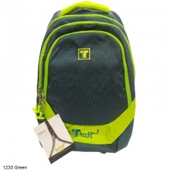 Trust 1233 Green Backpack Bag
