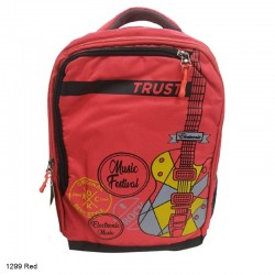 Trust 1299 Red Backpack Bag