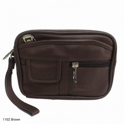 Trust 1102B Pouch Brown