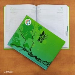 2021 Diary Todays Go Green...