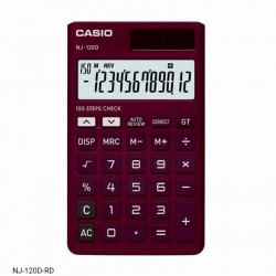 Casio NJ-120D-RD Check &...