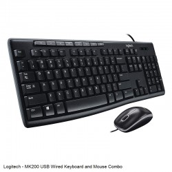 Wired Keyboard and Mouse...