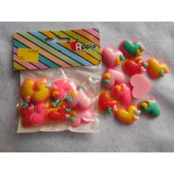 Plastic Candy Heart 10pc Pack 860