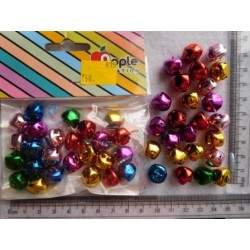 Jingle small Decoration Bells 14mm 25pc Pack 875