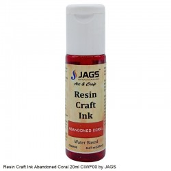 Resin Craft Ink Abandoned Coral 20ml CIWF00 by JAGS