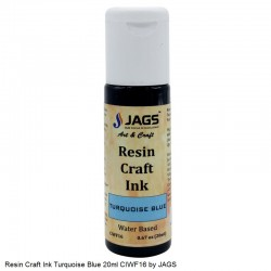 Resin Craft Ink Turquoise Blue 20ml CIWF16 by JAGS