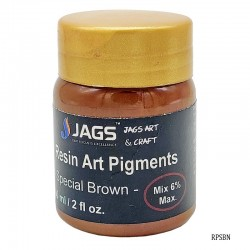 Resin Art Pigments Special Brown 60ml 2fl oz RPSBN by JAGS