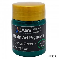 Resin Art Pigments Special Green 60ml 2fl oz RPSGN by JAGS