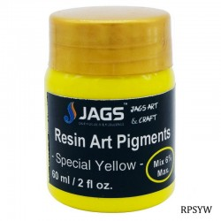 Resin Art Pigments Special Yellow 60ml 2fl oz RPSYW by JAGS