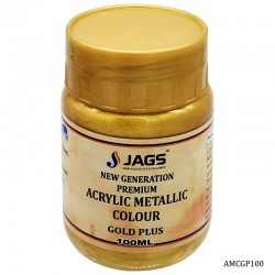 Acrylic Metallic Color 106 Gold Plus 100ml AMCGP100 by JAGS