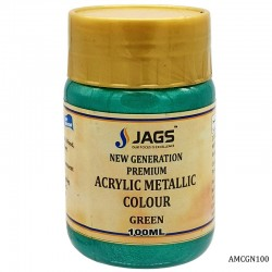 Acrylic Metallic Color 508 Green 100ml AMCGN100 by JAGS