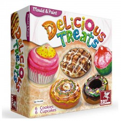 Mould & Paint Delicious Treats Toy Craft