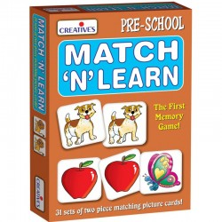 Match N Learn Creatives Ages 3 & up
