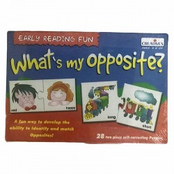 What's My Opposite? Creatives Ages 4 & up