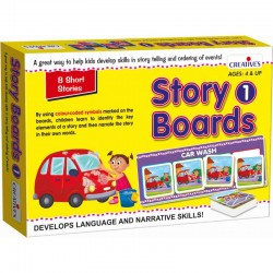 Story Boards 1 Creatives Ages 4 & up