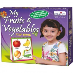 My Fruits & Vegetables – Flip Book Creatives Ages 3 & up