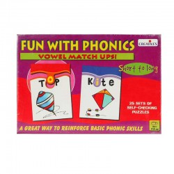 Fun with Phonics - Vowel match Ups Creatives Ages 4 & up