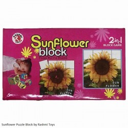 Sunflower Block Fixxo Puzzle Blocks Age 3yrs and above