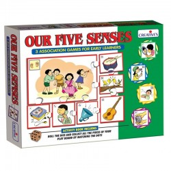 Our Five Senses - Creatives - Age group 5 and above