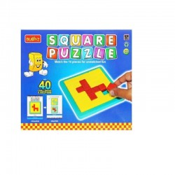 Square Puzzle - Buddyz - Age group 5 and above
