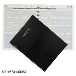 2022D A4 Monthly Planner...
