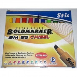 Stic Waterbased Boldmarker...