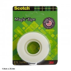 3M Scotch Magic Tape 1.9cm...