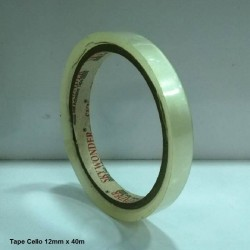 Tape Cello 12mm x 40m