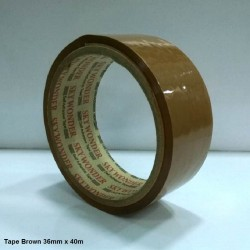 Tape Brown 36mm x 40m