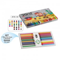 Doms Plastic Crayons 28...