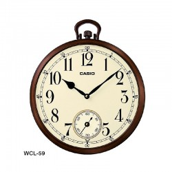 Casio WCL59 Wall Clock Dual...