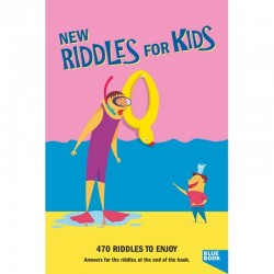 New Riddles for Kids Blue Book