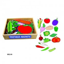 Vegetables Magnetic Set of...