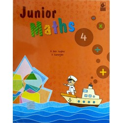 Junior Maths 4 by Bharati...