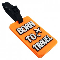 Luggage Tag Born to Travel