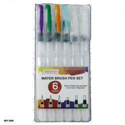 MY-006 Water Brush Pen 6Pcs...